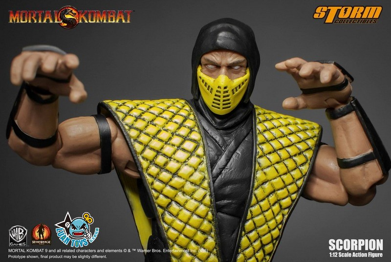 STORM TOY MORTAL KOMBAT 真人快打 - SCORPION 魔蠍-01