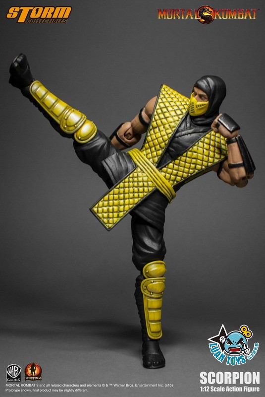 STORM TOY MORTAL KOMBAT 真人快打 - SCORPION 魔蠍-03