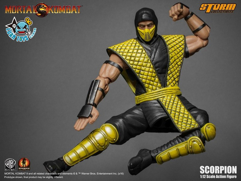 STORM TOY MORTAL KOMBAT 真人快打 - SCORPION 魔蠍-04