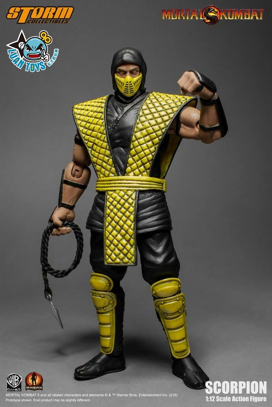 STORM TOY MORTAL KOMBAT 真人快打 - SCORPION 魔蠍-05