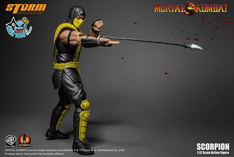 STORM TOY MORTAL KOMBAT 真人快打 - SCORPION 魔蠍-06