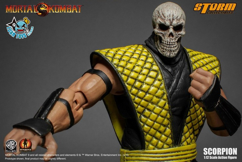 STORM TOY MORTAL KOMBAT 真人快打 - SCORPION 魔蠍-07