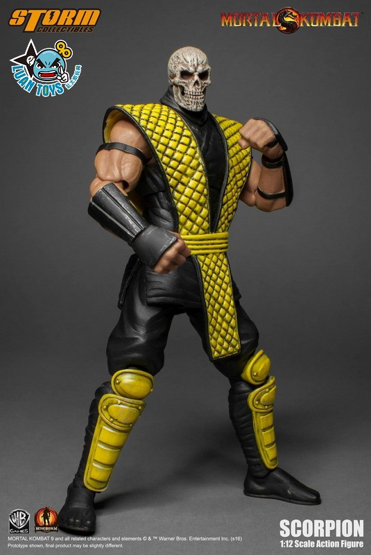 STORM TOY MORTAL KOMBAT 真人快打 - SCORPION 魔蠍-08