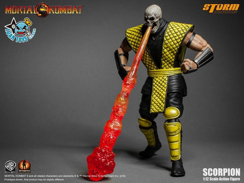 STORM TOY MORTAL KOMBAT 真人快打 - SCORPION 魔蠍-10