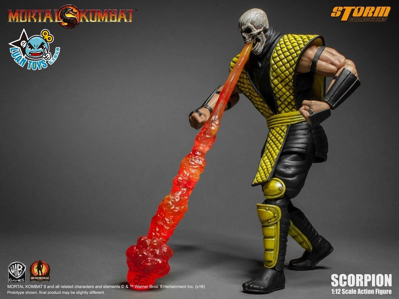STORM TOY MORTAL KOMBAT 真人快打 - SCORPION 魔蠍-11