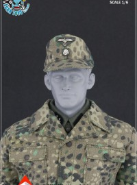 ALERT LINE AL100010C WWII GERMAN SS CAMOUFLAGE UNIFORM SUIT 二戰德軍黨衛軍迷彩制服服裝配件組-01