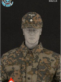 ALERT LINE AL100010D WWII GERMAN SS CAMOUFLAGE UNIFORM SUIT 二戰德軍黨衛軍迷彩制服服裝配件組-01