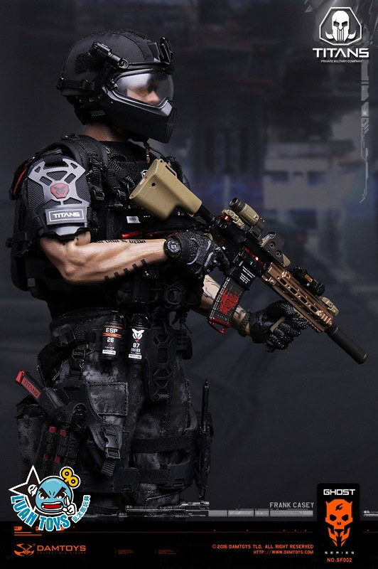 DAMTOYS SF002 GHOST SERIE 幽靈系列 - TITANS PMC(PRIVATE MILITARY CONTRACTOR) 泰坦職業傭兵部隊 - FRANK CASEY 法蘭克凱西-03