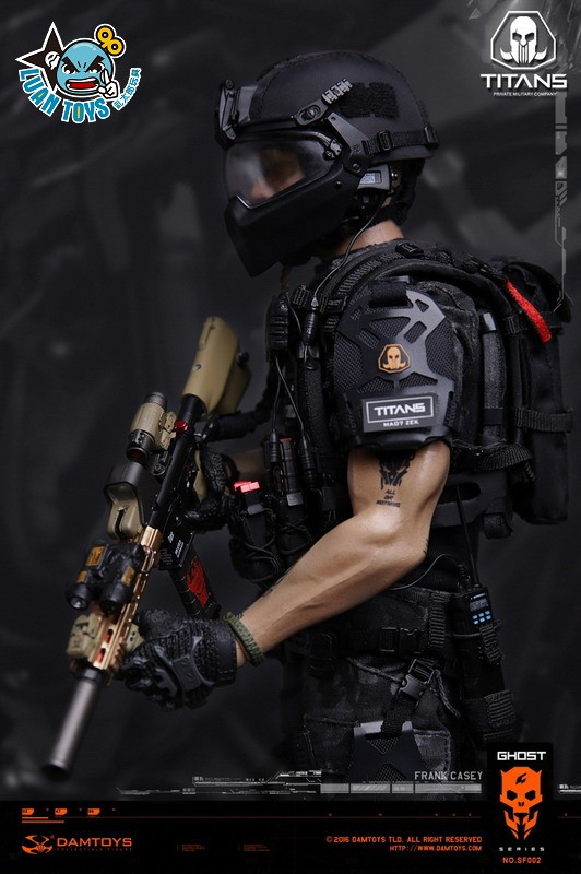 DAMTOYS SF002 GHOST SERIE 幽靈系列 - TITANS PMC(PRIVATE MILITARY CONTRACTOR) 泰坦職業傭兵部隊 - FRANK CASEY 法蘭克凱西-04