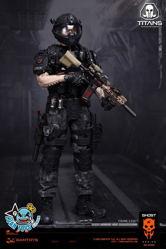 DAMTOYS SF002 GHOST SERIE 幽靈系列 - TITANS PMC(PRIVATE MILITARY CONTRACTOR) 泰坦職業傭兵部隊 - FRANK CASEY 法蘭克凱西-05