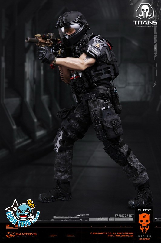 DAMTOYS SF002 GHOST SERIE 幽靈系列 - TITANS PMC(PRIVATE MILITARY CONTRACTOR) 泰坦職業傭兵部隊 - FRANK CASEY 法蘭克凱西-07