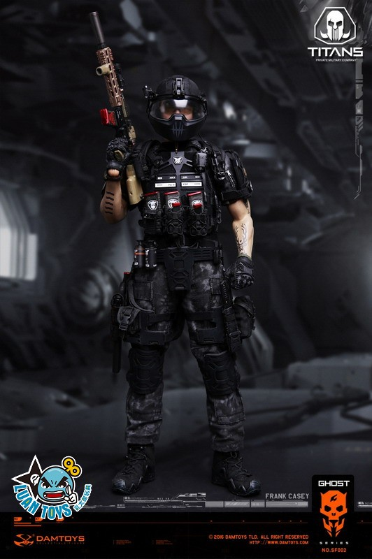 DAMTOYS SF002 GHOST SERIE 幽靈系列 - TITANS PMC(PRIVATE MILITARY CONTRACTOR) 泰坦職業傭兵部隊 - FRANK CASEY 法蘭克凱西-08