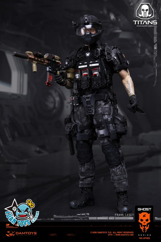 DAMTOYS SF002 GHOST SERIE 幽靈系列 - TITANS PMC(PRIVATE MILITARY CONTRACTOR) 泰坦職業傭兵部隊 - FRANK CASEY 法蘭克凱西-09