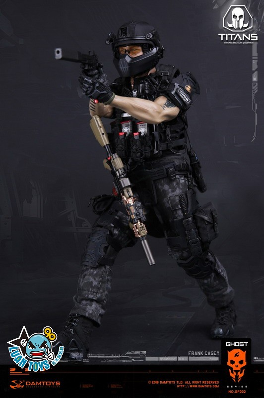 DAMTOYS SF002 GHOST SERIE 幽靈系列 - TITANS PMC(PRIVATE MILITARY CONTRACTOR) 泰坦職業傭兵部隊 - FRANK CASEY 法蘭克凱西-14