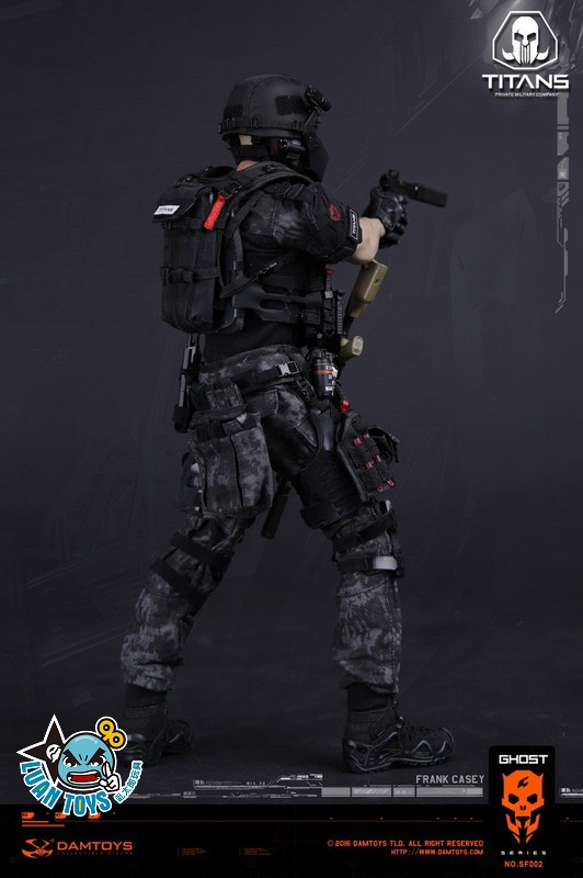 DAMTOYS SF002 GHOST SERIE 幽靈系列 - TITANS PMC(PRIVATE MILITARY CONTRACTOR) 泰坦職業傭兵部隊 - FRANK CASEY 法蘭克凱西-15