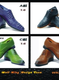 WOLFKING WK88003 TREND SHOES 潮流皮鞋配件組-01