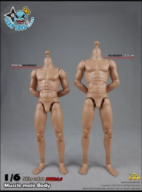 COOMODEL BD003、BD004   MUSCLE MALE BODY 肌肉型素體配件組(NEW 2.0 新2.0版)-01