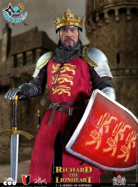 COOMODEL SE004 SERIES OF EMPIRES 帝國系列 - RICHARD THE LIONHEART 獅心王 理查-01