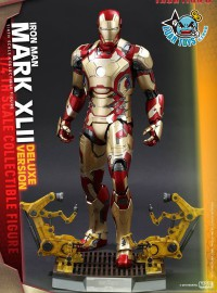 HOT TOYS MARVEL IRON MAN 3 鋼鐵人 3 - MARK XLII、MARK 42、馬克 42、TONY STARK 東尼史塔克(ROBERT DOWNEY JR. 小勞勃道尼飾演)(DX版)-05