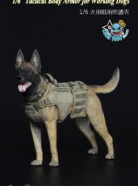 TOYS CITY 龍之城 TC-M9006 TACTICAL BODY ARMOR FOR WORKING DOGS 犬用戰術防護衣配件組-02
