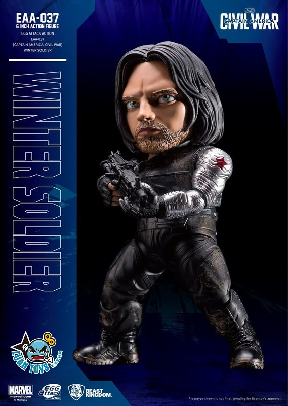 EGG ATTACK ACTION EAA-037 MARVEL CAPTAIN AMERICA CIVIL WAR 美國隊長 英雄內戰 - WINTER SOLDIER 酷寒戰士-02