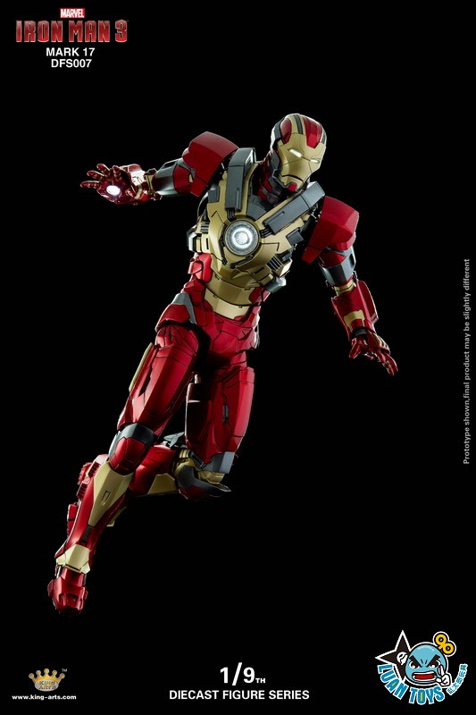 KING ARTS DFS007 MARVEL IRON MAN 3 鋼鐵人 3 – HEARTBREAKER 破心者、MARK XVII、MARK 17、馬克17-02