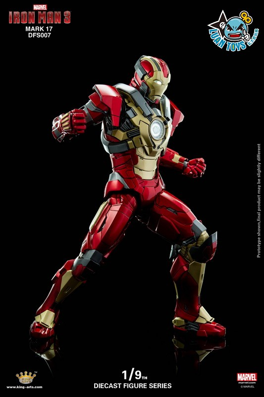 KING ARTS DFS007 MARVEL IRON MAN 3 鋼鐵人 3 – HEARTBREAKER 破心者、MARK XVII、MARK 17、馬克17-03