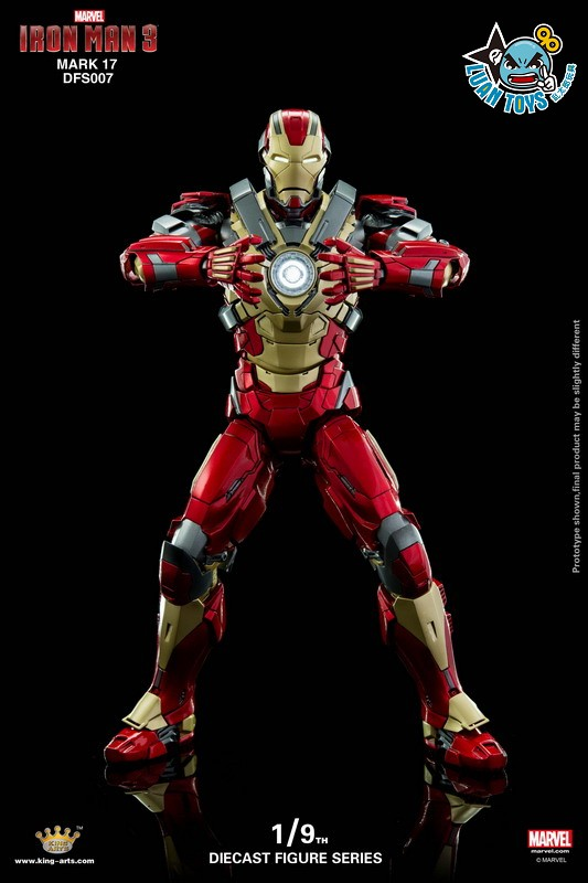 KING ARTS DFS007 MARVEL IRON MAN 3 鋼鐵人 3 – HEARTBREAKER 破心者、MARK XVII、MARK 17、馬克17-04