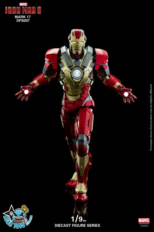 KING ARTS DFS007 MARVEL IRON MAN 3 鋼鐵人 3 – HEARTBREAKER 破心者、MARK XVII、MARK 17、馬克17-05