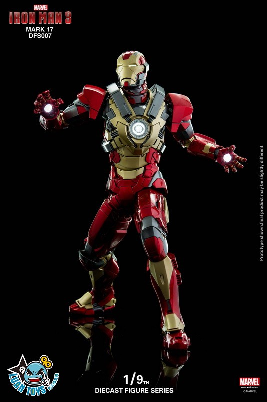 KING ARTS DFS007 MARVEL IRON MAN 3 鋼鐵人 3 – HEARTBREAKER 破心者、MARK XVII、MARK 17、馬克17-06