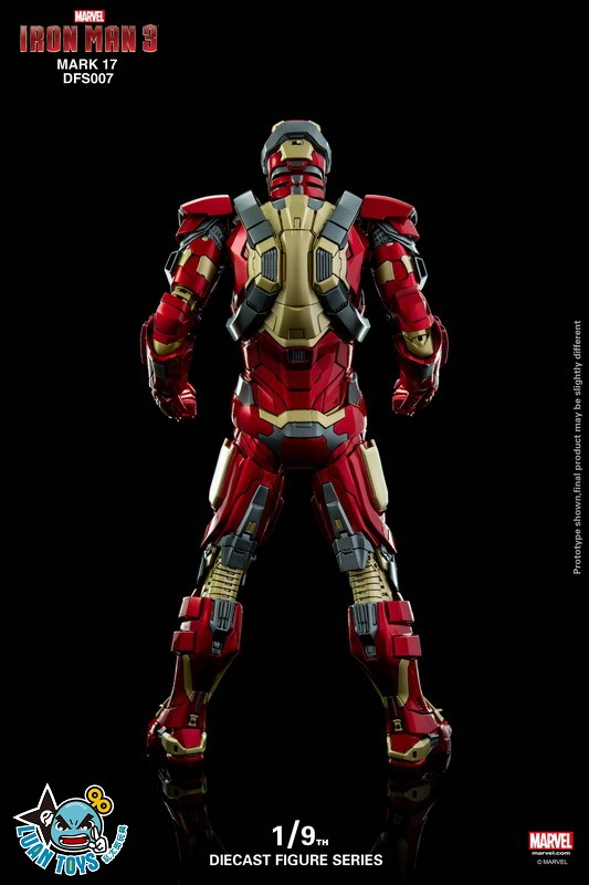 KING ARTS DFS007 MARVEL IRON MAN 3 鋼鐵人 3 – HEARTBREAKER 破心者、MARK XVII、MARK 17、馬克17-10