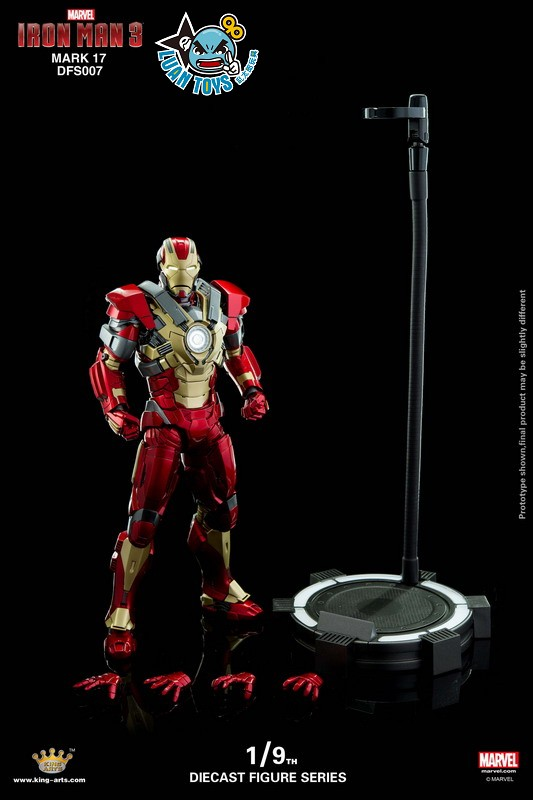 KING ARTS DFS007 MARVEL IRON MAN 3 鋼鐵人 3 – HEARTBREAKER 破心者、MARK XVII、MARK 17、馬克17-11
