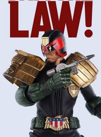 3A TOYS THREE A TOYS 2000AD JUDGE DREDD 超時空戰警 - JUDGE DREDD 特警判官-03