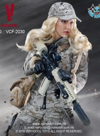 VERYCOOL VCF-2030 FEMALE SHOOTER 女槍手(沙漠數位迷彩版Ver.)-01