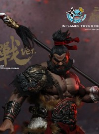 INFLAMES TOYS X  NEWSOUL TOYS IFT-020 三國虎將魂 – 張飛(翼德)、猛張飛(BLOODY BATTLE 血戰Ver.)-02