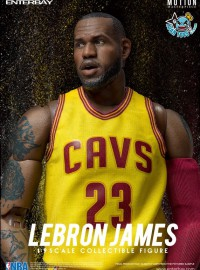 ENTERBAY MOTION MASTERPIECE NBA CLEVELAND CAVALIERS 美國職籃克里夫蘭騎士隊 - LeBRON JAMES 雷霸龍詹姆斯-01