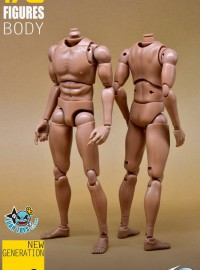 TOYS CITY 龍之城 BD01 MALE NARROW FIGURE BODY 通用型窄肩素體-01