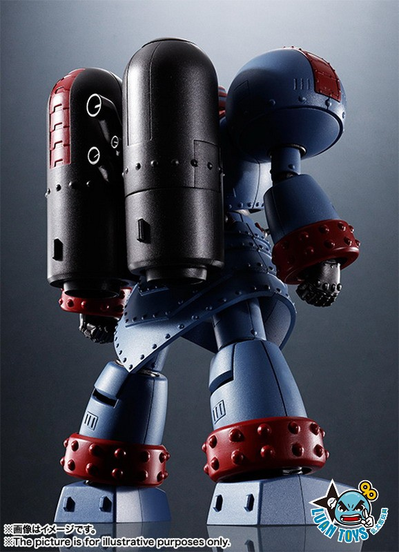 BANDAI SUPER ROBOT 超級機器人 SR超合金 GIANT ROBO THE ANIMATION VERSION 機械巨神 地球靜止之日 - GIANT ROBO 機械巨神-07