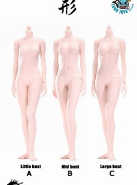 POPTOYS ST-92006 XING SERIES SUPER FLEXIBLE FEMALE BODY 形系列超靈活女性素體(白肌膚色Ver.)-01