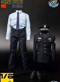 TOYS CITY 龍之城 68014 CHINESE POLICE OFFICER UNIFORM SET 中國公安制服服裝配件組-01