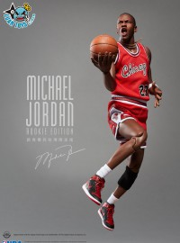 ENTERBAY NBA CHICAGO BULLS 美國職籃芝加哥公牛隊 - MICHAEL JORDAN 麥可喬丹(ROOKIE 新秀時期限定版)-01