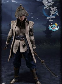 POPTOYS W001 WARRIOR WOMEN SERIES 女將系列 - FEMALE RONIN NOBUSHI 女浪人 野武士-09