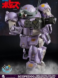 Threezero ARMORED TROOPER VOTOMS 裝甲騎兵 - ATM-09-ST SCOPEDOG & PARACHUTE SACK 眼鏡鬥犬 & 降落傘裝備(MELQUIYA 梅爾基亞軍配色Ver.)-03