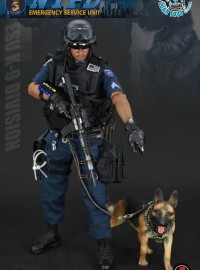 SOLDIER STORY US NYPD ESU K-9 DIVISION、US NEW YORK CITY POLICE DEPARTMENT EMERGENCY SERVICE UNIT K-9 DIVISION 美國紐約市警察局緊急應變單位警犬隊-03