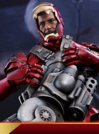 HOT TOYS MARVEL IRON MAN 鋼鐵人 - MARK III、MARK 3、馬克 3、TONY STARK 東尼史塔克(ROBERT DOWNEY JR. 小勞勃道尼飾演)(DX版)-20
