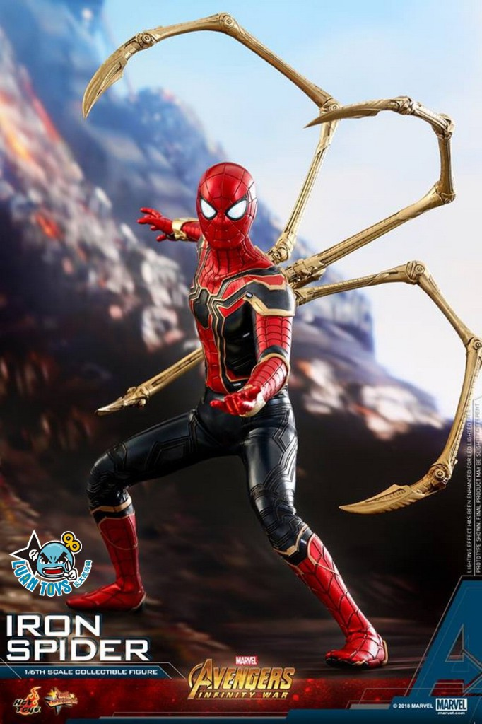 HOT TOYS MARVEL AVENGERS INFINITY WAR 復仇者聯盟 3 無限之戰 – IRON SPIDER 鋼鐵蜘蛛人、PETER PARKER 彼得帕克(TOM HOLLAN 湯姆霍蘭德飾演)-13