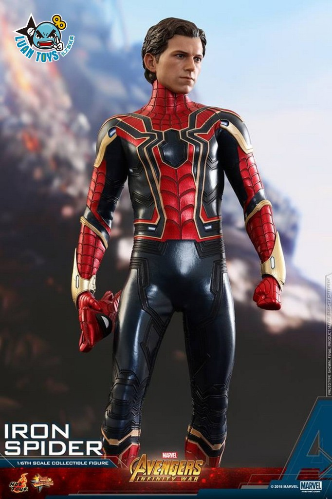 HOT TOYS MARVEL AVENGERS INFINITY WAR 復仇者聯盟 3 無限之戰 – IRON SPIDER 鋼鐵蜘蛛人、PETER PARKER 彼得帕克(TOM HOLLAN 湯姆霍蘭德飾演)-19