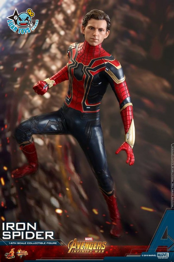 HOT TOYS MARVEL AVENGERS INFINITY WAR 復仇者聯盟 3 無限之戰 – IRON SPIDER 鋼鐵蜘蛛人、PETER PARKER 彼得帕克(TOM HOLLAN 湯姆霍蘭德飾演)-20