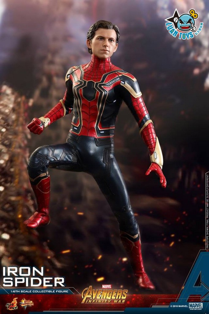 HOT TOYS MARVEL AVENGERS INFINITY WAR 復仇者聯盟 3 無限之戰 – IRON SPIDER 鋼鐵蜘蛛人、PETER PARKER 彼得帕克(TOM HOLLAN 湯姆霍蘭德飾演)-21