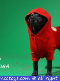 MR.Z X MCCToys MCC006A DOG HOODIE 狗帽T(RED 紅色)-01